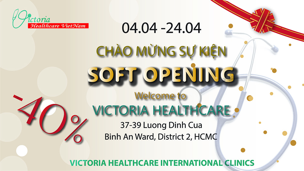 SOFT OPENING OF VICTORIA HEALTHCARE'S NEW CLINIC - PROMOTION UP TO 40%
